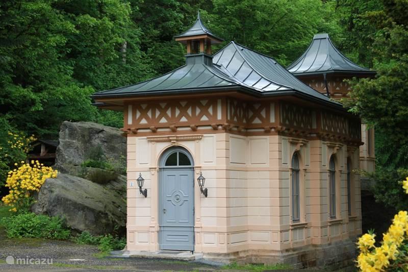 Ferienwohnung Deutschland, Sachsen, Rosenthal-Bielatal Ferienhaus Jagdschloss Bielatal Sophia