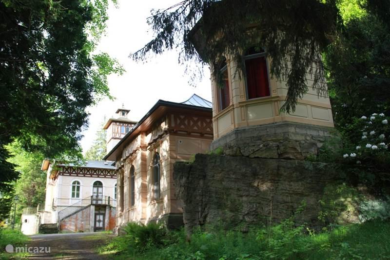Vakantiehuis Duitsland, Saksen, Rosenthal-Bielatal Vakantiehuis Jagdschloss Bielatal 'Sophia'
