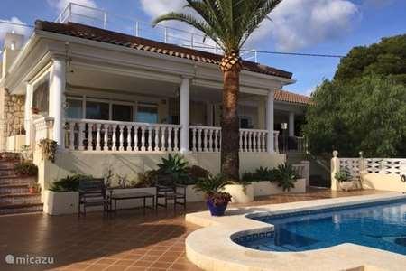 Vakantiehuis Spanje, Costa Blanca, Benidorm - chalet Bella Vista