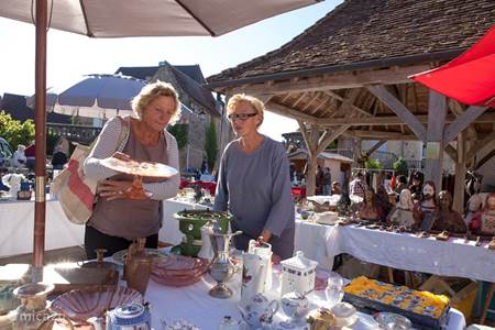 Brocante in Audrix