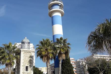 Strand Torre del Mar op slechts 30 km van het huis.
