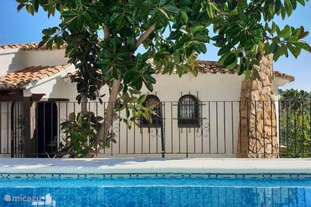 Vacation rental Spain, Costa Blanca, Benissa holiday house Casa Rika