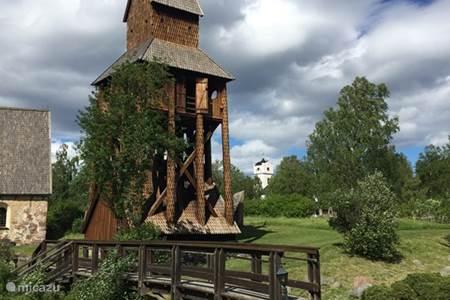 De oude kerk van Ragunda