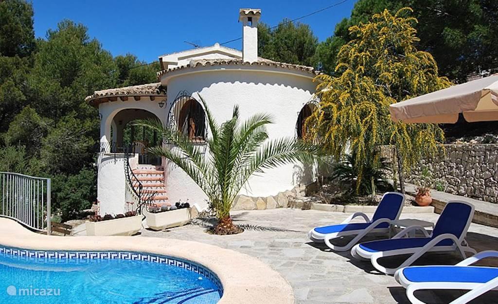 Vakantiehuis Spanje, Costa Blanca, Moraira villa Casa Belita