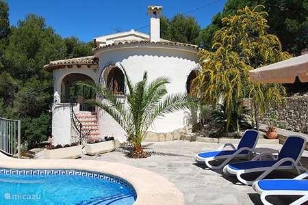 Vakantiehuis Spanje, Costa Blanca, Moraira villa Casa Belita-Moraira strand El Portet