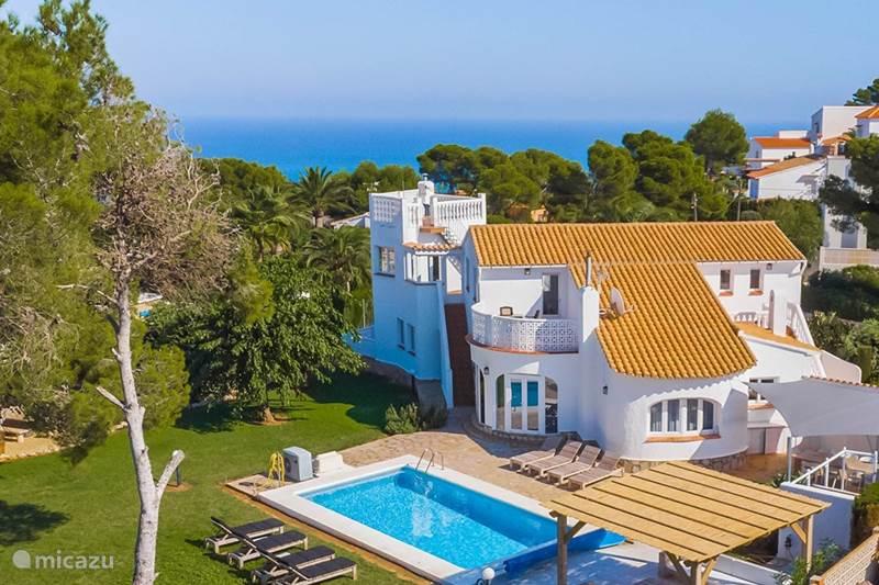 Vakantiehuis Spanje, Costa Blanca, Javea Villa 10 persoons Villa