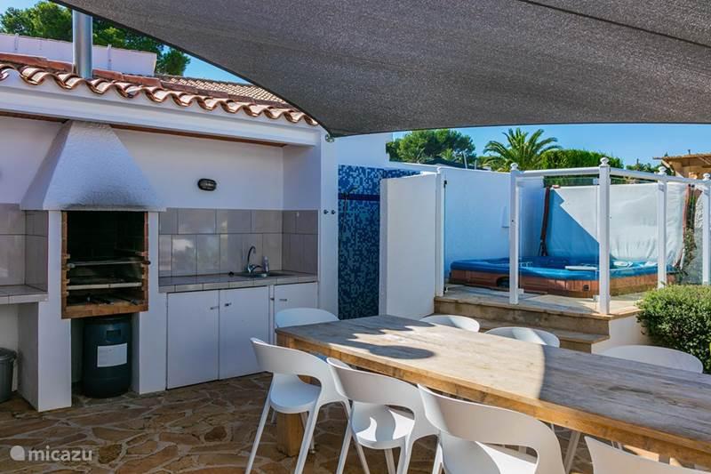 Vacation rental Spain, Costa Blanca, Javea Villa 10 person Villa