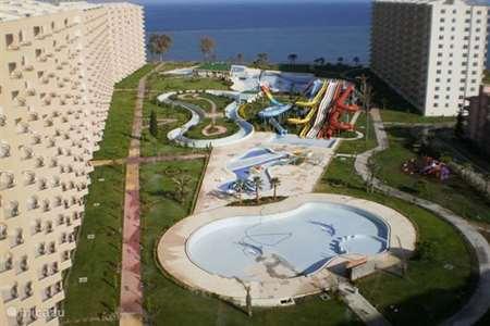 Vakantiehuis Turkije, Turkse Rivièra, Mersin appartement Queenaba Beach resort*****