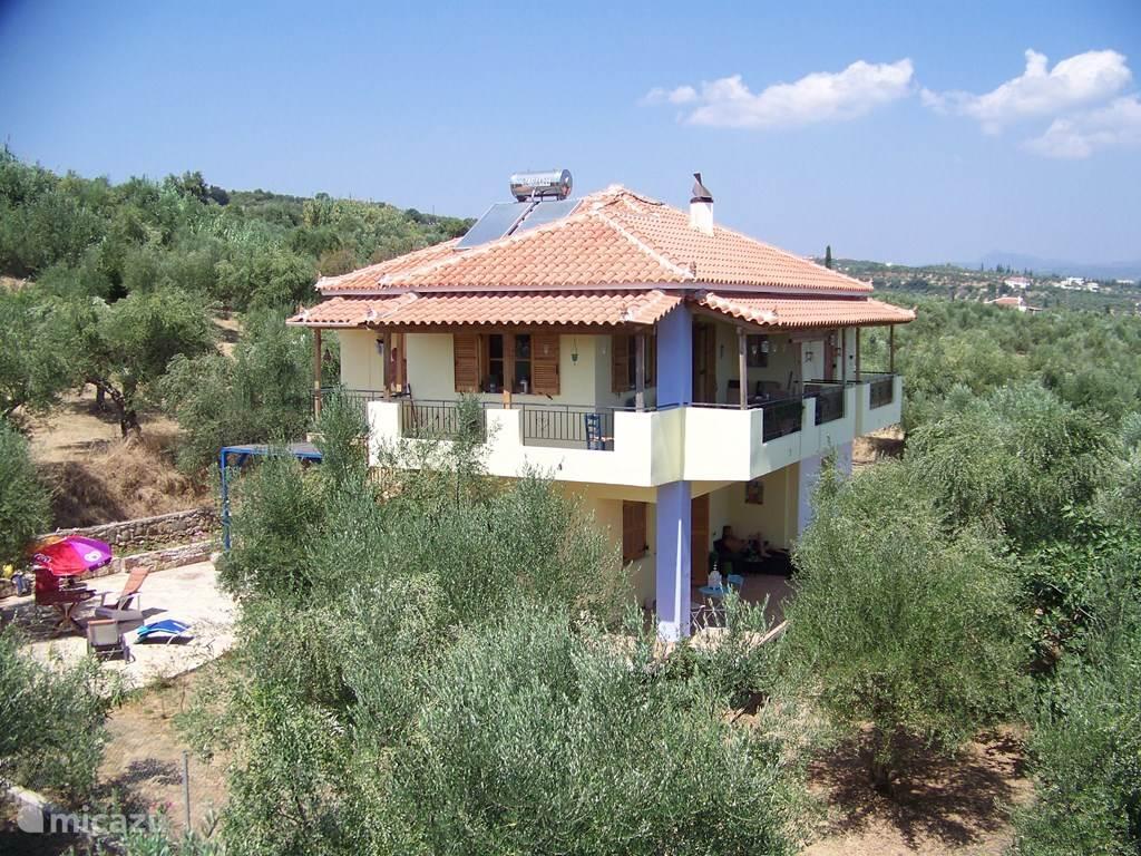 Vakantiehuis Griekenland, Peloponnesos, Koroni - vakantiehuis Villa Koroni