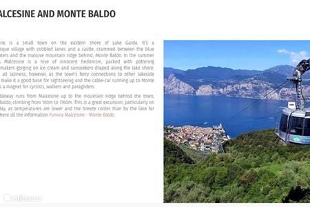 Malcesine en Monte Baldo