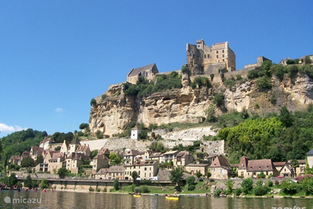 Beynac on the Dordogne with its castle