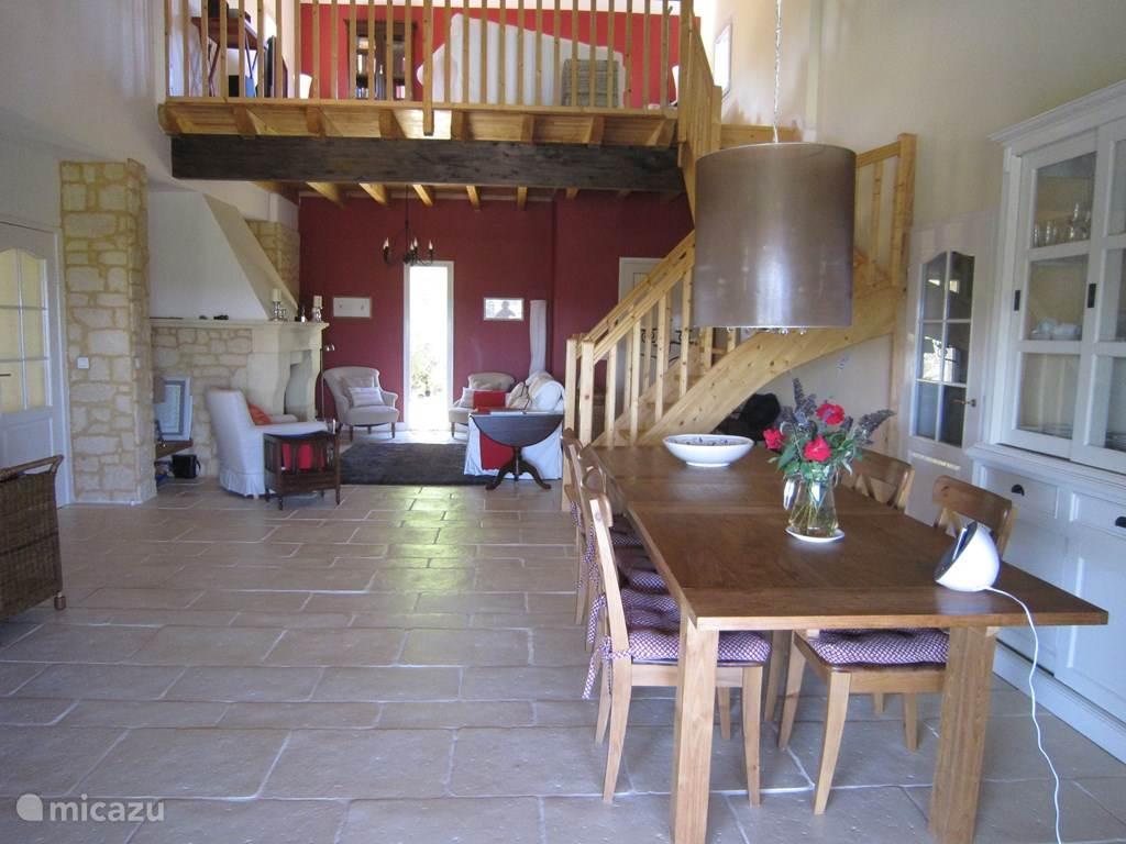 Vakantiehuis Frankrijk, Dordogne, Saint-Cybranet Landhuis / Kasteel La Berberie