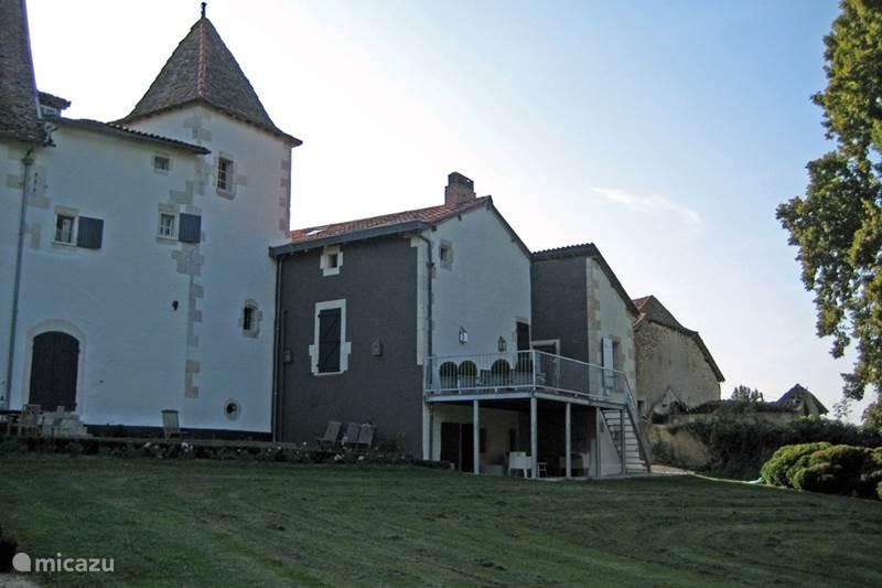 Vakantiehuis Frankrijk, Dordogne, Chenaud Landhuis / Kasteel Jachtslot Le Logis (La Dronne)