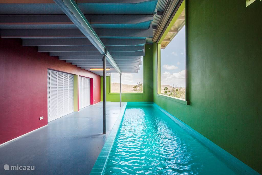 Vacation rental Curaçao, Banda Abou (West), Sint Willibrordus Villa Casa Weeber-sustainable architecture