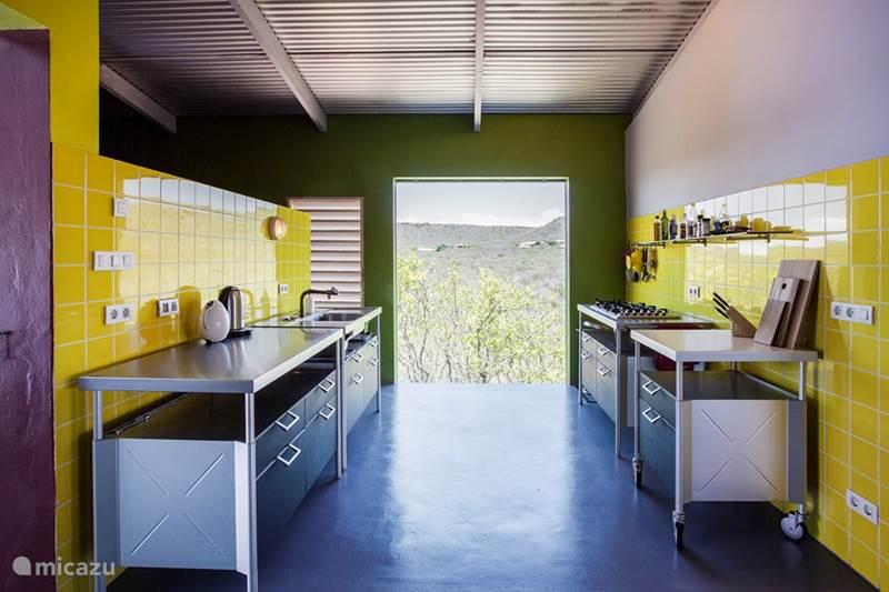 Vakantiehuis Curaçao, Banda Abou (west), Sint Willibrordus Villa Casa Weeber - duurzame architectuur