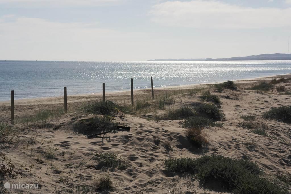 Het strand bij El Pinet