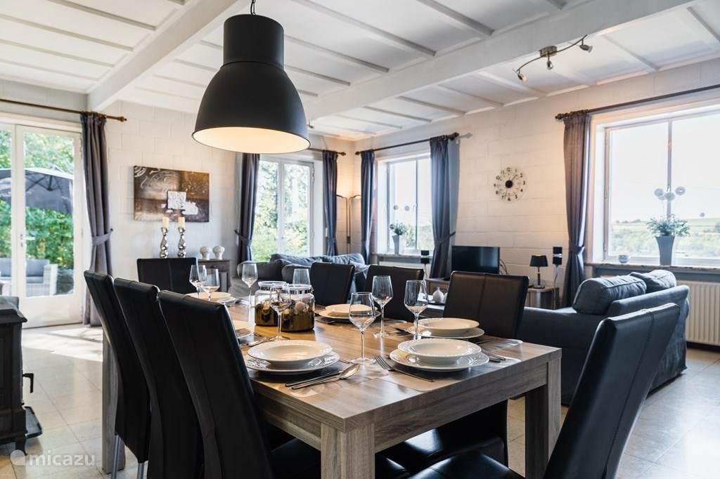 Ferienwohnung Belgien, Ardennen, Bomal-sur-Ourthe Villa Villa Beau Blanc