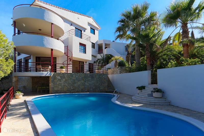 Vakantiehuis Spanje, Valencia, Cullera Villa Grote luxe villa met zeezicht