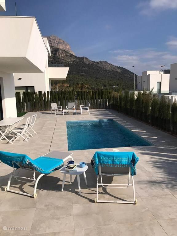 Vakantiehuis Spanje, Costa Blanca, Polop Villa Prachtige villa Nucia/polop, Spanje