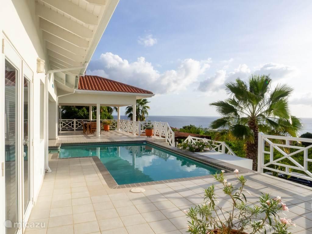 Vakantiehuis Curaçao, Banda Abou (west), Coral Estate, Rif St.Marie - villa Villa Happy View