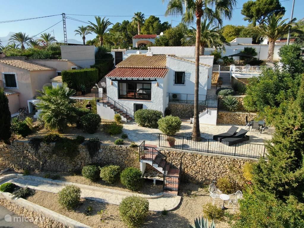 Vakantiehuis Spanje, Costa Blanca, Altea la Vieja villa Casa El Riquet