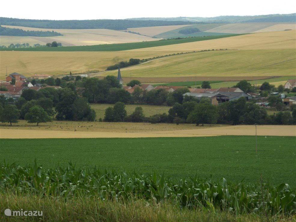 Het dorpje Seuzey