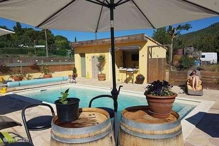 Vakantiehuis Frankrijk, Hérault, Roquebrun appartement Maison crème soleil