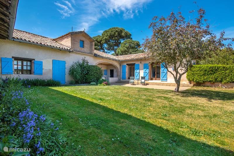 Vakantiehuis Frankrijk, Tarn-et-Garonne, Vigueron Gîte / Cottage Escudes gite Woodenshoe