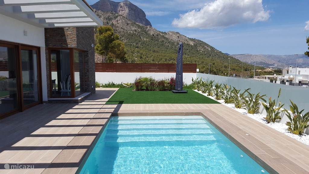 Vakantiehuis Spanje, Costa Blanca, Polop – villa Luxe villa Nucia/Polop
