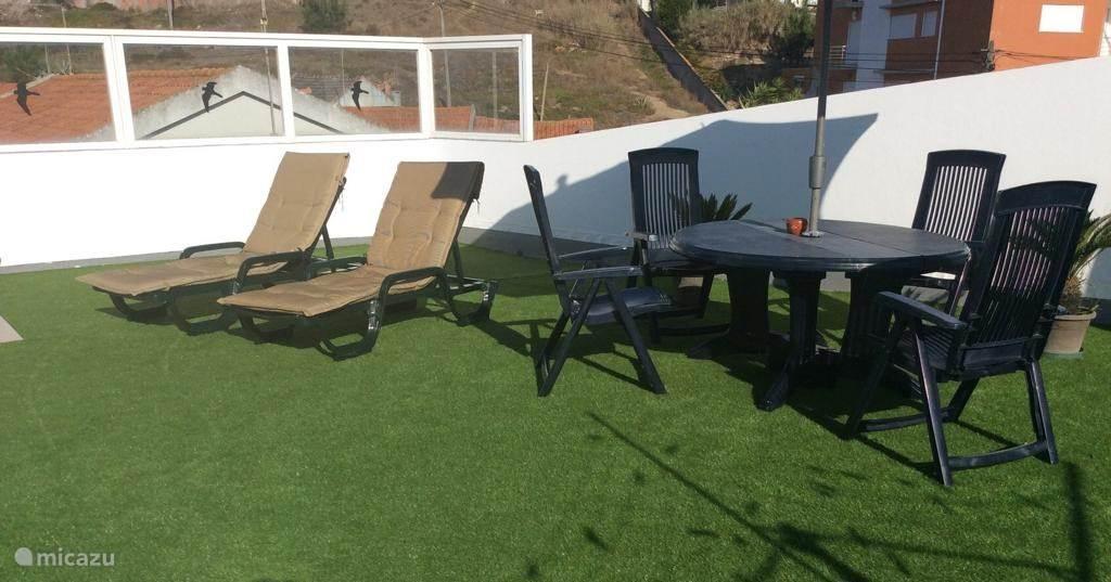 Ferienwohnung Portugal, Costa de Prata, Nazaré appartement Casa Azul