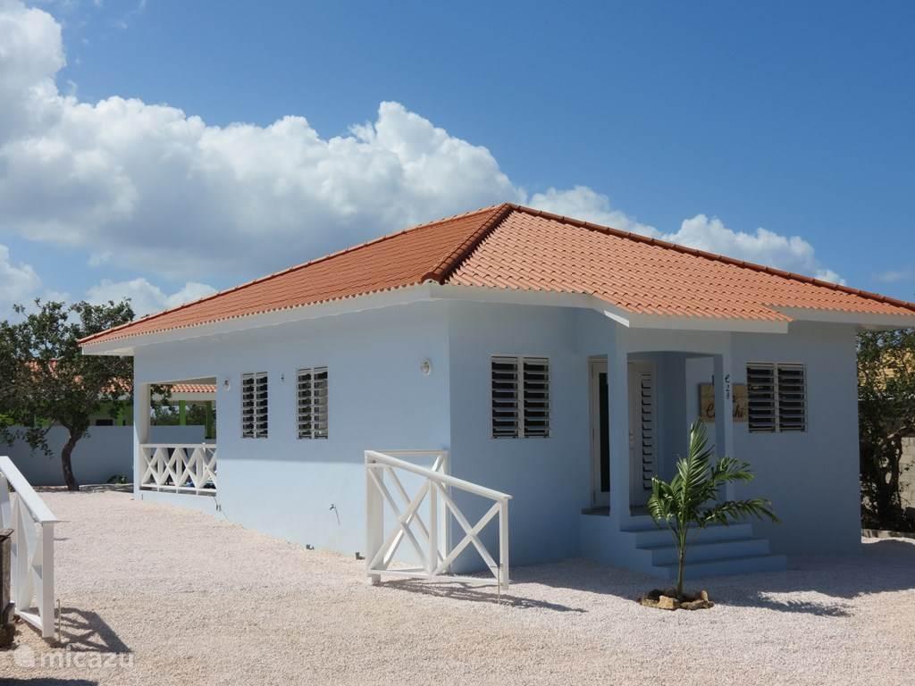 Vakantiehuis Curaçao, Banda Abou (west), Fontein Villa Casa Cadushi met zwembad