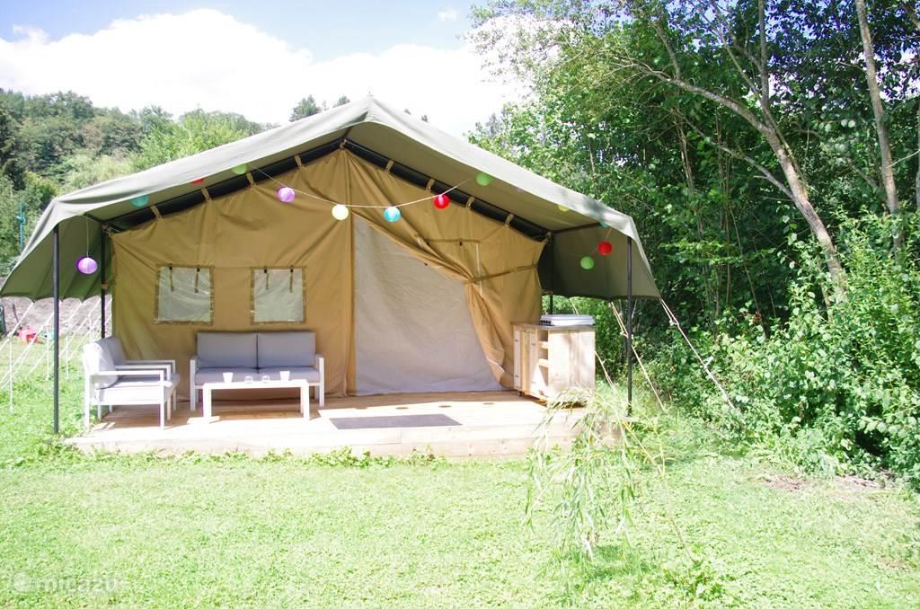 Vakantiehuis Frankrijk, Puy-de-Dôme, Châteauneuf-les-Bains glamping / safaritent / yurt Villa Guillaumette 1