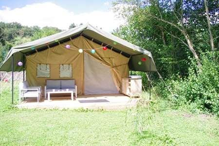 Vacation rental France, Puy-de-Dôme, Châteauneuf-les-Bains glamping / safari tent / yurt Villa Guillaumette 1