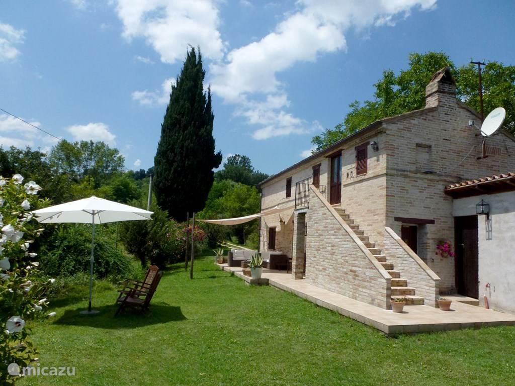 Ferienwohnung Italien, Marken, Montottone villa Casa Cipresse