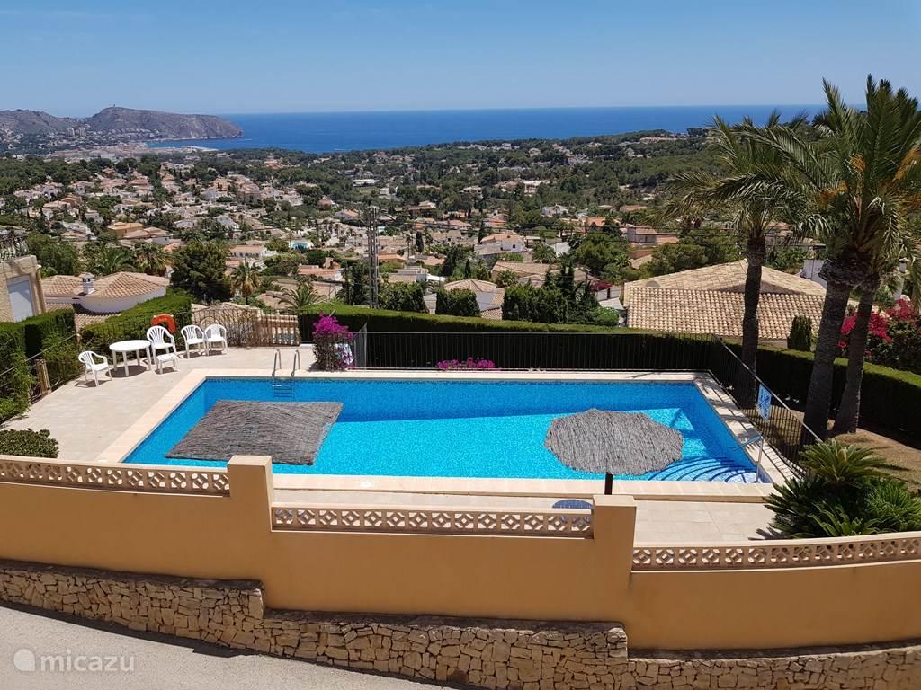 Ferienwohnung Spanien, Costa Blanca, Moraira reihenhaus Casa Jerrar