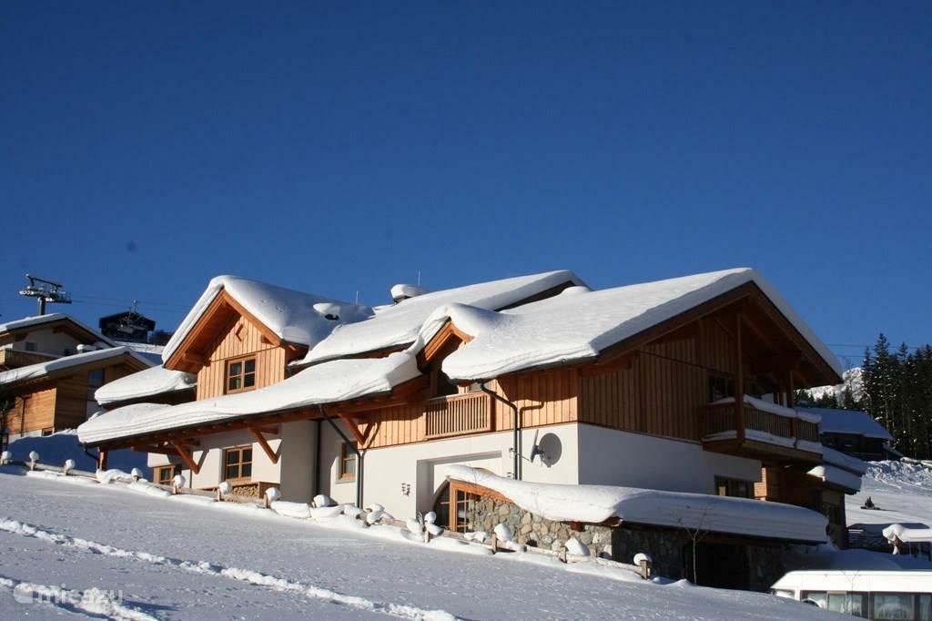 Vacation rental Austria, Salzburgerland, Annaberg holiday house Haus Koopman 'Bergblick'Summer / Winter
