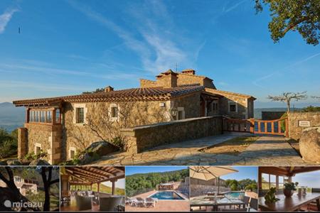 Vakantiehuis Spanje, Costa Brava, Romanya de la Selva - villa Top of the World