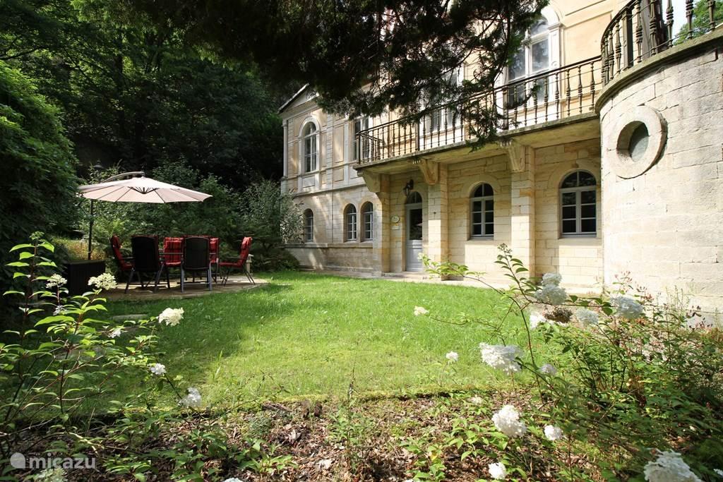 Vakantiehuis Duitsland, Saksen, Rosenthal-Bielatal Appartement Jagdschloss Bielatal 'Helena'