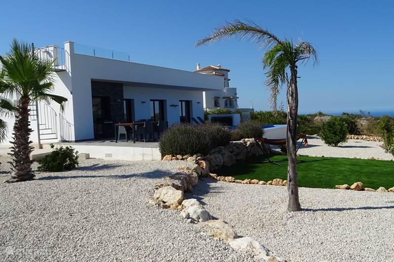 Vakantiehuis Spanje, Costa Blanca, Rafol d' Almunia Villa El Sol Blanco