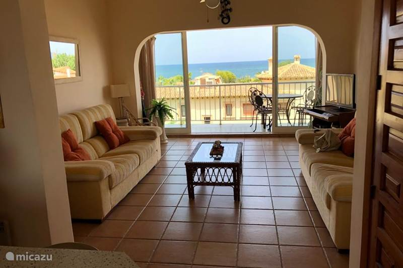 Vacation rental Spain, Costa Blanca, Dénia Apartment Penthouse Casa Vista Mare