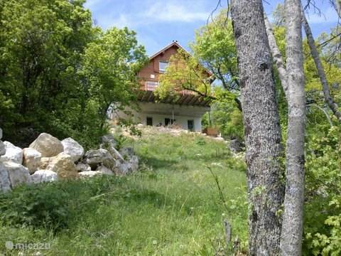 Vakantiehuis Frankrijk, Hautes-Alpes, Manteyer Chalet Arbre des Roses