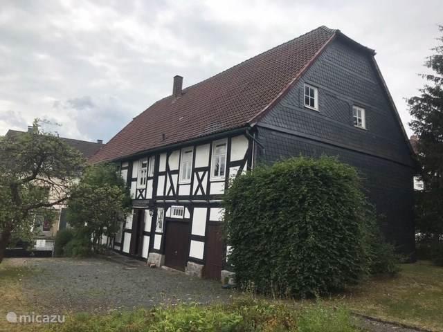 Vacation rental Germany, Sauerland, Medebach holiday house Musikhaus Medebach