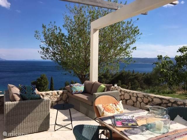 Vacation rental Croatia, Dalmatia, Mimice holiday house The Egelantier