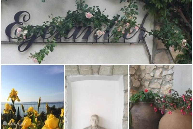 Vacation rental Croatia, Dalmatia, Mimice Holiday house The Egelantier