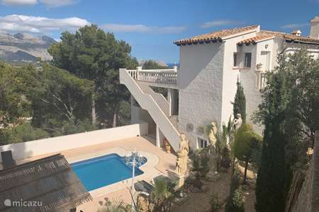 Vacation rental Spain, Costa Blanca, La Nucia - villa Villa Santorini, Costa Blanca