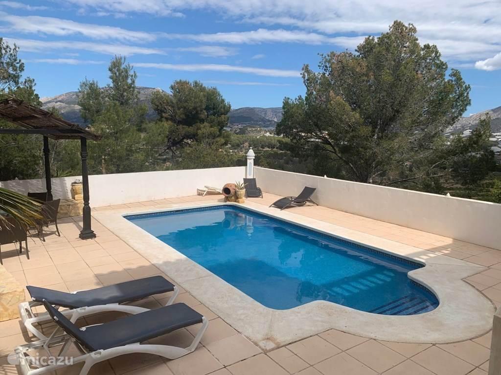 Vakantiehuis Spanje, Costa Blanca, La Nucia Villa Villa Santorini, Costa Blanca