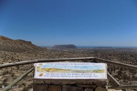 Uitzicht vanuit Orito