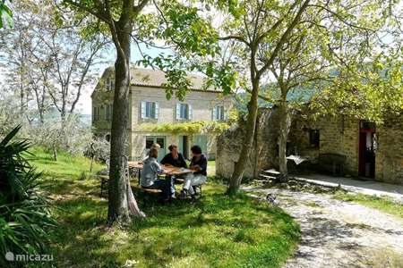 Vakantiehuis Italië, Marche, Penna san Giovanni - vakantiehuis Casa Crocetti / Monti Sibillini