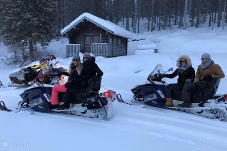 Snowscooter safari
