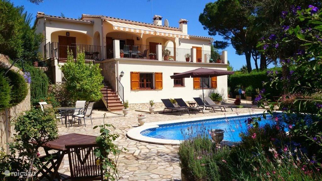 Ferienwohnung Spanien, Costa Brava, Calonge Villa El Refugio